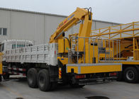 Çin Durable 5T Wire Rope Raise Articulated Boom Crane , 25 L/min Oil Flow şirket
