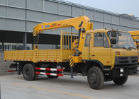 Çin Durable Cargo Mobile Truck Loader Crane With 55 L/min Max Oil Flow Fabrika
